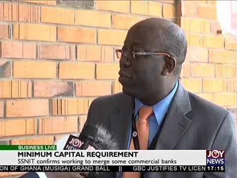 Minimum Capital Requirement - Business Live on JoyNews (4-1-18)
