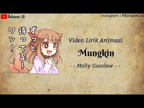 Mungkin🎵 - Melly Goeslaw | Cover Feby [Lirik Animasi]