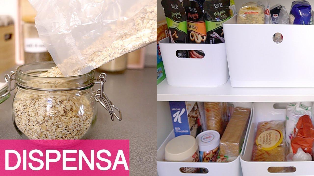 ORGANIZZAZIONE CASA - Organizzo la dispensa con Ikea + Trucchetti facili in  cucina
