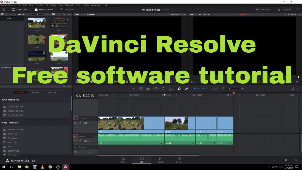 Part 2 Best Video Editing Software for Beginners (Video Tutorial)