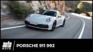Essai Porsche 992 : la huitième génération de 911 en question