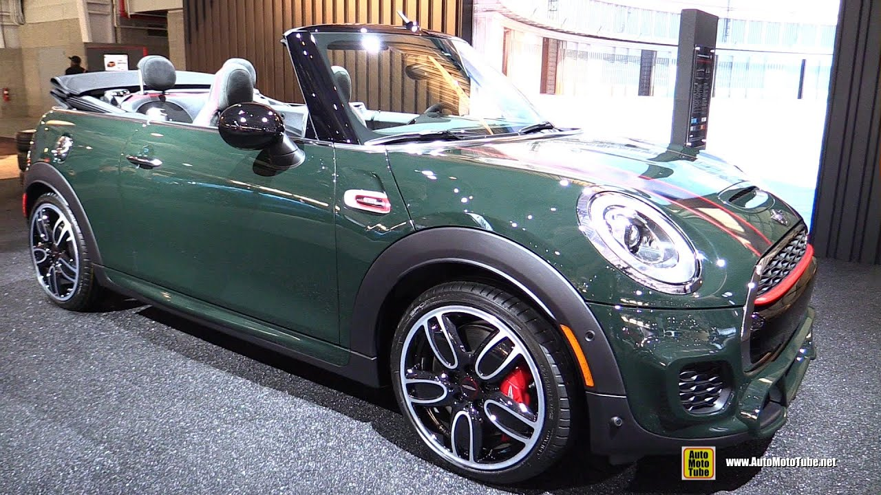 2017 Mini John Cooper Works Convertible Exterior And Interior Walkaround 2016 New York Auto Show You