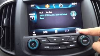 Buick IntelliLink - How to configure Radio Presets