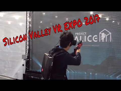 Silicon Valley Virtual Reality Expo 2017 | Judd Xavier Vlog 6