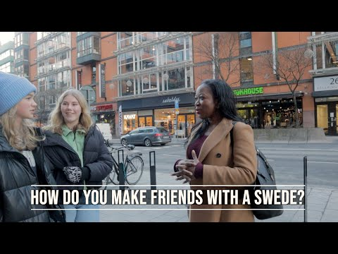Are Swedish people really shy? Talking to STRANGERS in STOCKHOLM