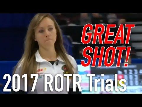 2017 Tim Hortons Roar of the Rings - Rachel Homan - Thin runback for 2