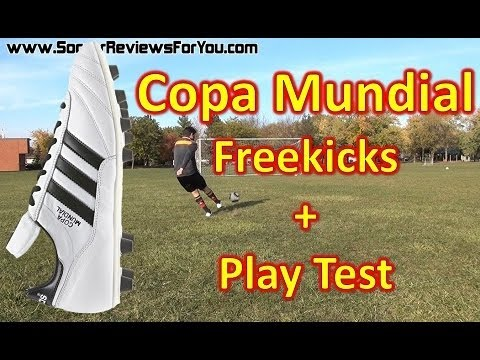 Adidas Copa Mundial Review - Freekicks + Play Test