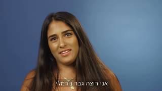 הישראליות - גבר ימני או שמאלני?