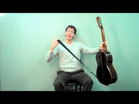 Classical Guitar Strap Lesson