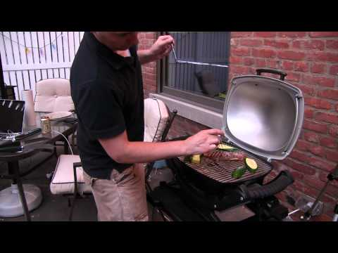 Weber Q140 Electric Grill Demo and Review