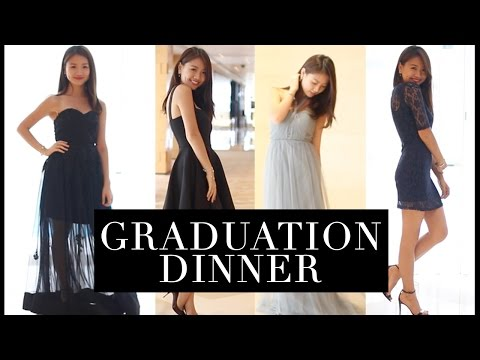 🎃謝師宴必睇!Graduation Dinner/Prom Makeup Outfit IDEAS  | Pumpkin Jenn🎃