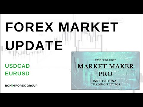 Forex Market Update ~ Trading USDCAD & EURUSD Analysis