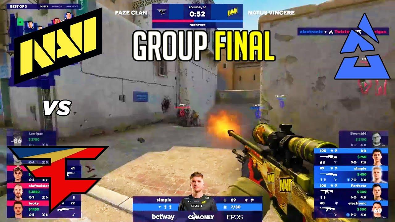 Download GROUP FINAL! NaVi vs FaZe - BLAST Premier - HIGHLIGHTS l CSGO