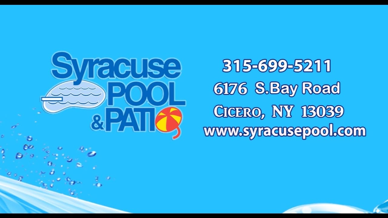 Syracuse Pool Patio Cicero NY Swimming Pool Contractors YouTube