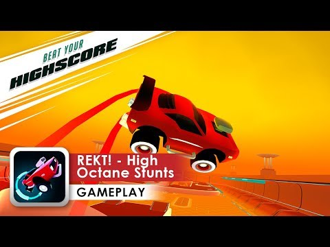 REKT! - High Octane Stunts Gameplay HD (iOS & Android)