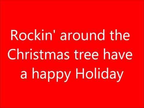 Rockin' Around The Christmas Tree Lyrics