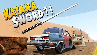 Found a Secret Bunker with a Katana Sword - The Long Drive Gameplay Video