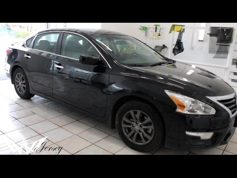 black 2015 nissan altima sport edition tinted by winning window tints youtube. Black Bedroom Furniture Sets. Home Design Ideas