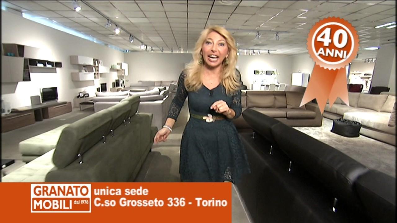 Granato mobili torino 2017 saldi spot33sec youtube for Granato mobili torino