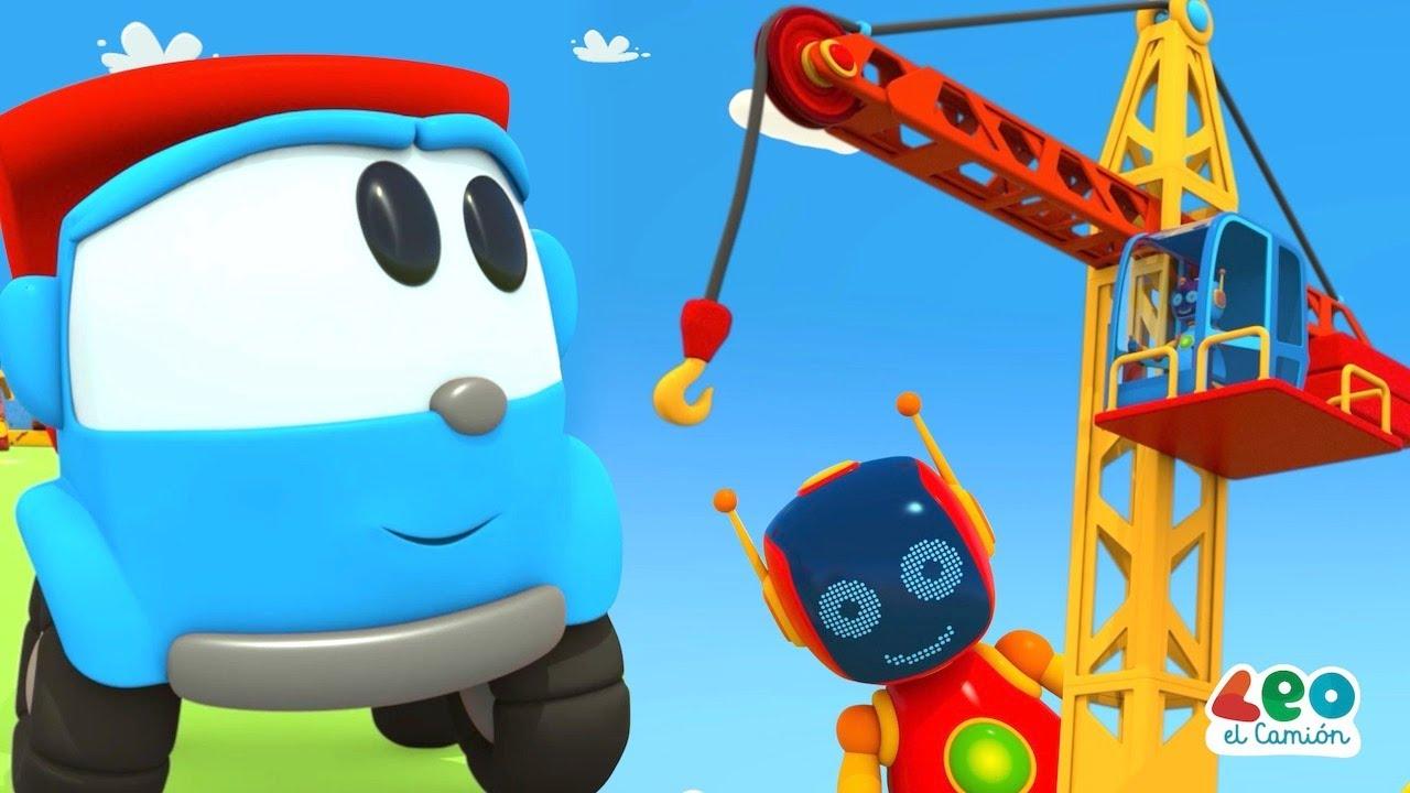 Leo el Camión - Leo y la Grúa Torre - Capitulos nuevos en español para niños