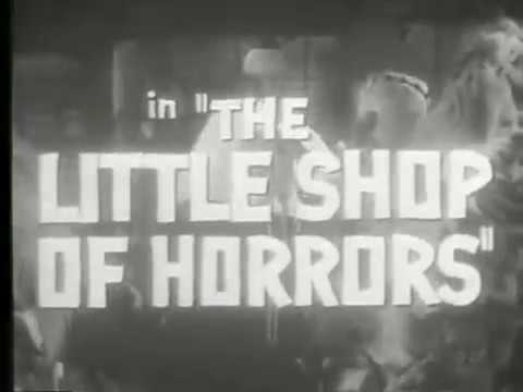 """""""The Little Shop of Horrors"""" (1960) Free Screening on Zoom!"""