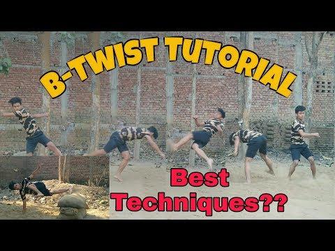 B Twist Tutorial//Sahil Gurung