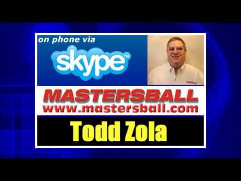 Talking Projections with Fantasy Baseball Expert Todd Zola from Mastersball.com