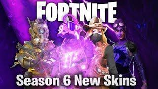 Download Fortnite Season 6 New Skins Battle Pass Skins Timelapse