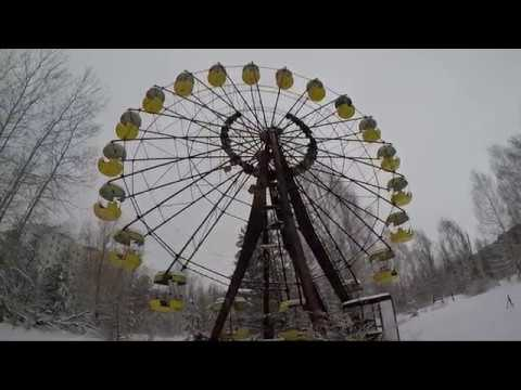 Chernobyl Exclusion Zone, Pripyat, Ukraine February 2018