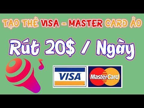 Tạo Visa Master Card Ảo Liên Kết PayPal Và Rút 20$ Mỗi Ngày App Wesing - LVT | Kiếm Tiền Online