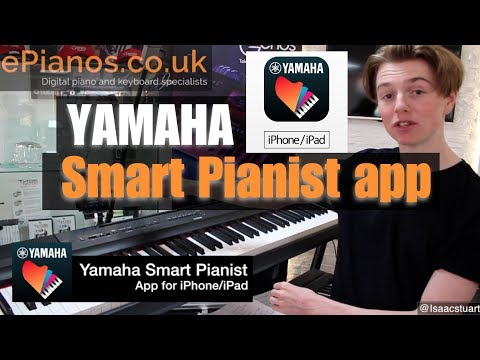Yamaha Smart Pianist app review for P-125