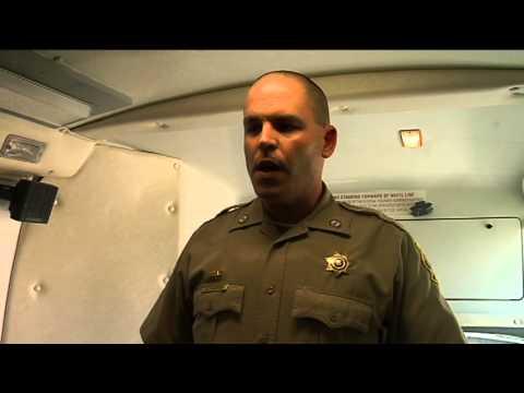 Deputy Gabe Edwards describes DWI scenario