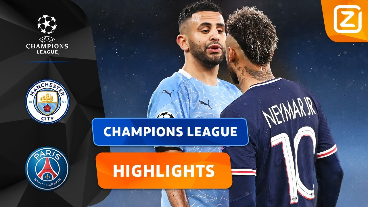 BELADEN CLASH IN MANCHESTER! 🔥🙌🏼 | Manchester City vs PSG | Champions League 2020/21 | Samenvatting