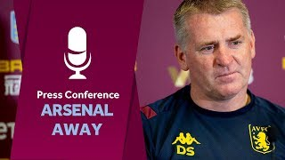 Press Conference:  Arsenal away