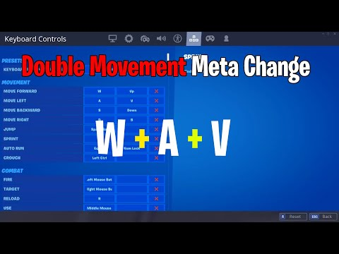 How To Use Double Movement Keybinds Like Bugha & Mongraal - New Fortnite Meta