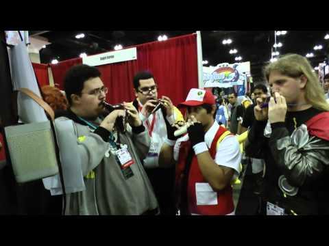 Ievan Polkka on Ocarina Quartet! (Songbird Booth at Anime Expo 2012)