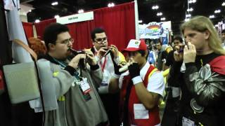 Ievan Polkka on Ocarina Quartet! (Songbird Booth at Anime Expo 2012)