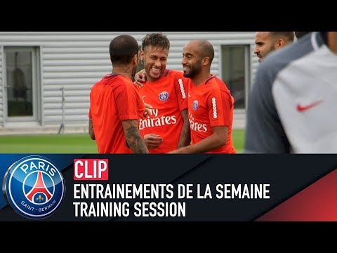 TRAINING SESSION - ENTRAINEMENTS DE LA SEMAINE with Neymar Jr, Dani Alves