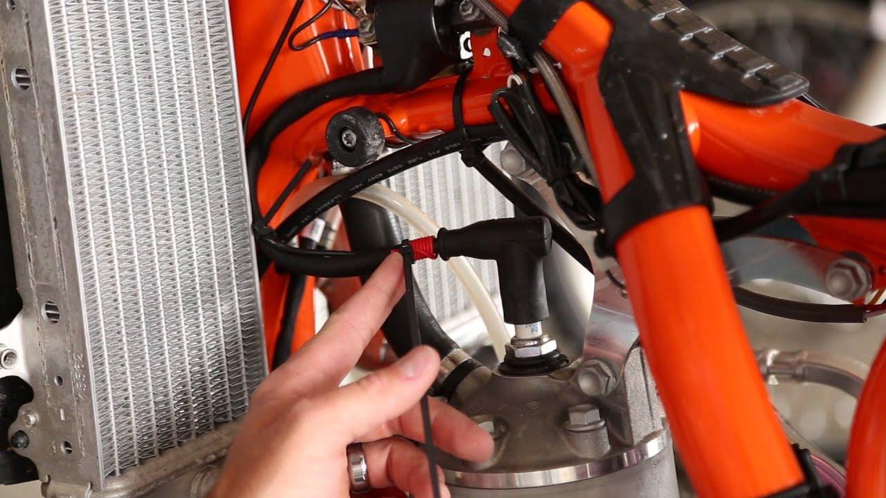 Installing a Trail Tech Hour Meter - KTM 300 XC