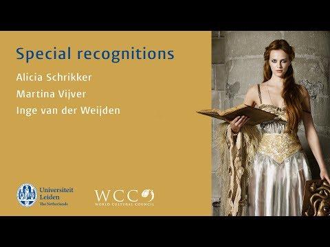 WCC Special Recognitions 2017 - Alicia Schrikker, Martina Vijver and Inge van der Weijden