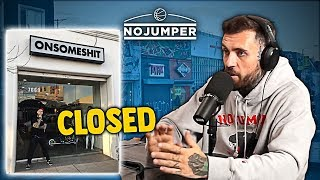 Adam22 Explains Why He Closed His Store on Melrose