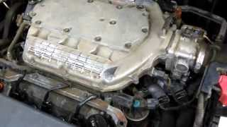 EGR valve remove how to Honda Odyssey 2005