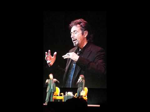 Al Pacino Live on Daniel DayLewis