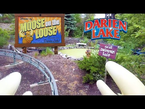 2018 Darien Lake Moose on the Loose On Ride HD POV - YouTube