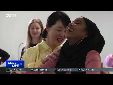 Somali students learn Traditional Chinese Medicine thumbnail