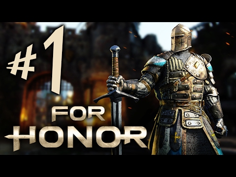 FOR HONOR - Parte 1: Os Cavaleiros Honrados!!! [ PC - Playthrough ]