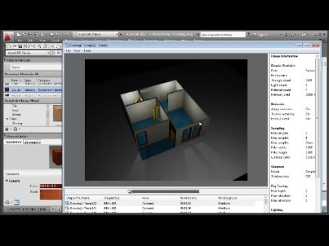 AutoCAD 3D Modeling Floor Plan Tutorial (Basic)