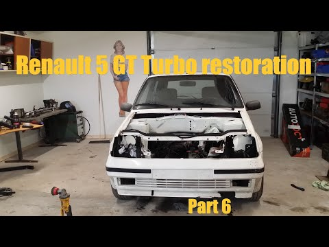 Renault 5 GT Turbo Restoration Part 6- A Small Update