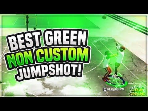 *NEW* BEST GREEN JUMPSHOT NBA 2K20 BEST NON CUSTOM JUMPSHOT NBA 2K20 HOW TO GET GREENS!
