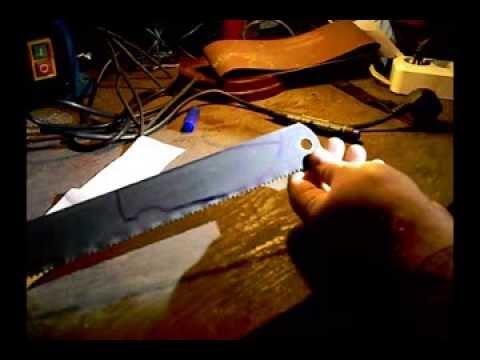 Ножи своими руками из мехпилы